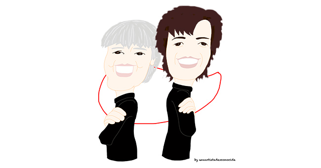 Yolanda González y yo